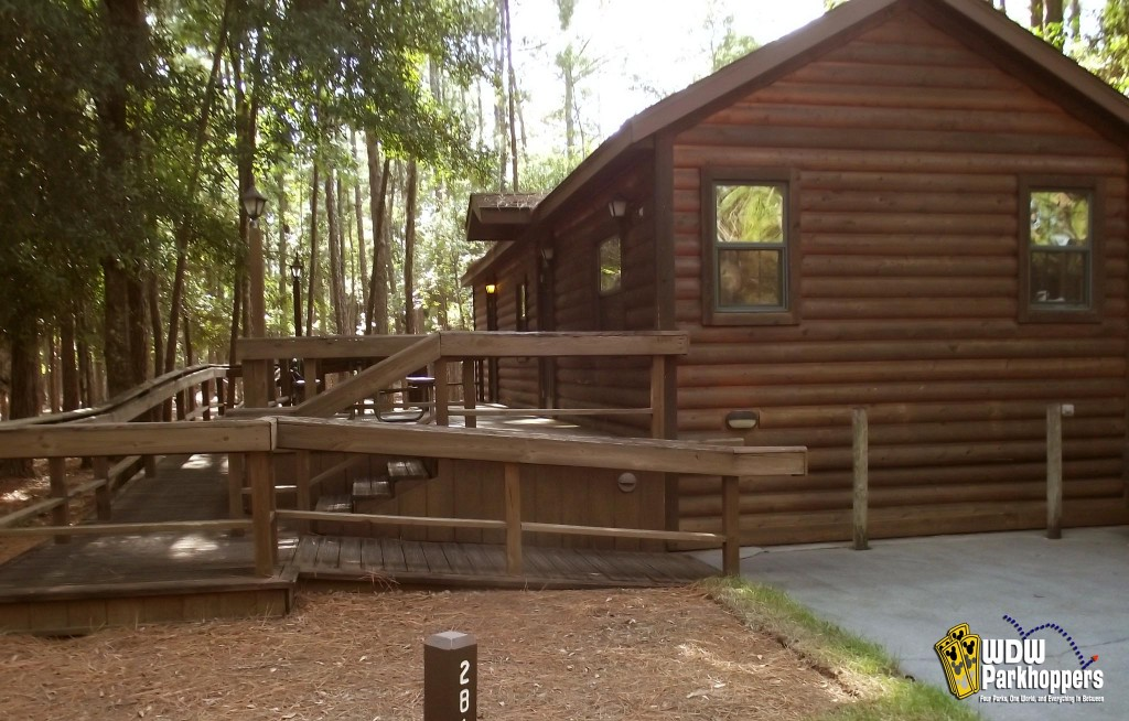 The cabins at fort wilderness wdw parkhoppers walt for Cabins at wilderness lodge